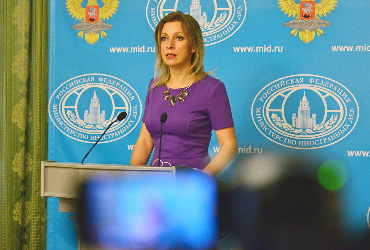 Briefing by Foreign Ministry Spokesperson Maria Zakharova ...